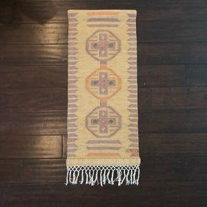 Other - Vintage Handmade Boho Wall Hanging